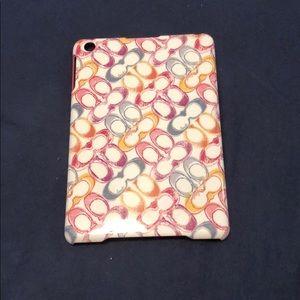 Coach iPad mini case